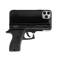 Wholesale toys for iphone resale online - Luxury D Funny Gun Phone Case for iphone Pro Max X Plus Xr Xs max Silicone pistol Toy Phone Cover