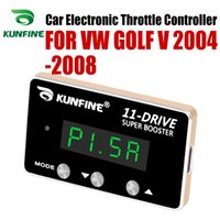 Wholesale vw car parts resale online - KUNFINE Car Electronic Throttle Controller Racing Accelerator Potent Booster For VW GOLF V Tuning Parts Drive