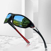 Wholesale sunglasses man polarised resale online - 2020 Unisex UV400 Polarised Driving Sun Glasses For Men Polarized Stylish Sunglasses Male Goggle Eyewears