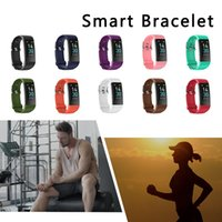Wholesale xiaomi mi band 3 for sale - Group buy 2020 NEWEST Smart Band S5 Heart Rate Monitor PK For Xiaomi Mi Band IP68 Waterproof Fitness Activity Tracker Smart Bracelet Wristbands