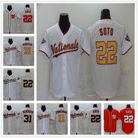 Wholesale max scherzer resale online - 2020 Baseball Harper Jerseys Embroidery Logos JUAN SOTO MAX SCHERZER Stephen Strasburg reaHEN Turner Wilmer Difo MENS JERSEY