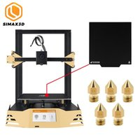Wholesale printer nozzle for sale - Group buy SIMAX3D Upgraded D Printer with x235mm Magnetic Print Bed Tape Plate and Five mm Nozzles Build Volume for Precision Print