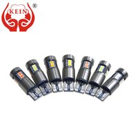 Wholesale gold clearance resale online - KEIN CANBUS v T10 Led Gold Light Bulb W5W Car Led Lights Interior Lighting Clearance Parking Tail Signal Lamp