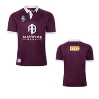 Wholesale maroon top for sale - Group buy top QLD MAROONS QUEENSLAND MAROONS STATE OF ORIGIN TRAINING RUGBY JERSEY size S M L XL XXL XL XL XL