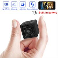 Wholesale hiding cameras for home for sale - Group buy Mini Camera Wifi HD P Mini Camera Espion Night Vision Hidden For Home MC49001