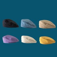 Wholesale black caps news for sale - Group buy Autumn Octagonal Cap Newsboy Beret Hat For Women Men Vintage News Boy Cap Cabbie Gatsby Linen Outdoor Hats