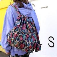 Wholesale backpacks for womens for sale - Group buy Womens Large Capacity Flower Style Waterproof Nylon Shoulders Backpacks women backpack school bags for teens