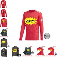 Wholesale soccer jerseys full uniform for sale - Group buy 2021 RASHFORD B FERNANDES POGBA Long sleeves Soccer Jerseys manchester LINGARD MARTIAL Football Shirt united UTD uniforms man