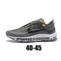 Wholesale max 97 undefeated for sale - Group buy New air shoe max man react Running Shoes best quality sneakers Balck Metallic Gold Corduroy Pack Undefeated