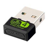 Wholesale wi fi resale online - 150Mbps USB WiFi Adapter Free Driver GU b g n G Wi fi Receiver Network Card USB Ethernet USB Ethernet