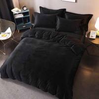 Wholesale dry sheets resale online - Designer Pieces Bedding Set Luxury Soft Warm Bed Quilt Sheet Sets Brand Fashion Printed Bedsheet Home Hotel Bedding Supplies