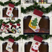 Wholesale designer kids clothes boutique resale online - 6wUFI Boutique girls romper Jumpsuits Santa Claus infant with Leggings socksAutumn fashion Baby kids Christmas Climbing clothes