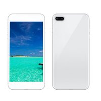 Wholesale android sim tv inch for sale – best 5 inch goophone i8 Plus G WCDMA Quad Core MTK6582 Android OS Goophone MP Camera Metal Frame Single Nano Sim Card smartphone sbloccato