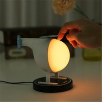 Wholesale best table lamps resale online - Cgjxs Airplane Aircraft Helicopter Usb Charger Led Lamp Baby Bedroom Table Lamp Best Home Deco Gift H372