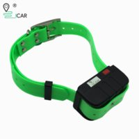 Wholesale gps dogs collar for sale - Group buy Waterproof gps collar real time tracking dog tracker gsm locator google map lifetime free app