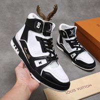 Wholesale zapatillas sports casual for sale - Group buy Trainer Sneaker Boot Mens Shoes Zapatillas Hombre Fashion Design Outdoor Walking Casual Shoes Sports Breathable High Top Vintage Men