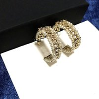 Wholesale hoop earring sold resale online - Hot style sells hot pearl hoop earrings Designer fashion versatile elegant earrings