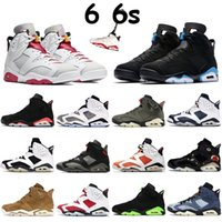 Wholesale infrared keychain for sale - Group buy 6s With Jumpman Keychain UNC DMP Basketball Shoes Mens Sneakers Travis Scotts Black Infrared CNY Hare Paris Sports Trainers QAX
