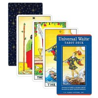Wholesale New Universal Waite Tarot Cards Factory Made High Quality Smith Tarot Deck Board Game For Fun Table Cards Games yxlkRX otsweet