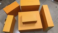 Wholesale Factory designer lady bags box with different color name size and stuff for bags wallet scarf close