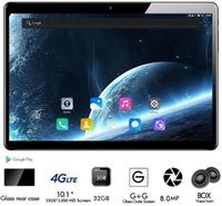 Wholesale android tab phones resale online - 10 Inch Tablet Pc Core CP9 RAM GB ROM GB IPS G Lte Phone Call Tab Wifi GPS Bluetooth Android Tablets x1200