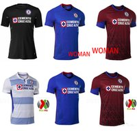 Wholesale mexico women home jersey for sale - Group buy 2020 Mexico Club Cruz Azul Liga MX jersey soccer Home CARAGLIO CAUTE MONTOYA HERNANDEZ Football Shirts camisetas de futbol woman SIZE S XXL