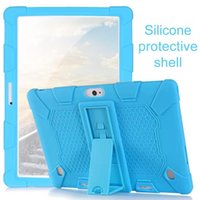 Wholesale tablet pc android bundle resale online - For Universal Soft Silicone Case For Inch Android Tablet PC Shockproof Solid Color Back Cover Protective
