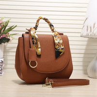 Wholesale discount totes resale online - 2020 New European and American style handbags purses color ribbon decoration large capacity limited time discount Shoulder Bags