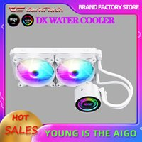 Wholesale water cooler pc resale online - darkFlash PC Case Water Cooler Computer CPU Fan Water Cooling Radiator integrated Liquid Cooling for Intel LGA x AM3 AM4