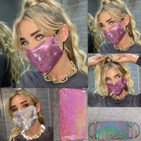 Wholesale amazon jewelry for sale - Group buy Facemask Rhinestone women girl cm cm Factory direct European and American Amazon women s new heavy metal jewelry facecover HHC1370