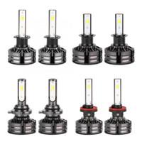 Wholesale led headlight conversions for sale - Group buy 1Set H1 H3 W White Car LED Headlight Bulb Kit With Integrated Conversion Kit Car Styling V V K K K