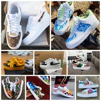 Wholesale sneakers c for sale - Group buy 2020Hot Dunk cheap Utility Running Shoes Men Women triple air af forces airforce one skateboard mens trainers sports sneakers
