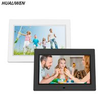 Wholesale media player for mp3 for sale - Group buy 10 quot HD Digital Photo Frame Picture Mult Media Player MP3 MP4 Alarm Clock For Gift