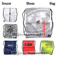 Wholesale ronaldo soccer boots hypervenom resale online - High Tops Football Boots Bag Ronaldo CR7 Mercurial Superfly VII VI GS360 Soccer Cleats Hypervenom Neymar JR Phantom VSN Soccer Shoes Bag