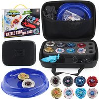 Wholesale beyblades toys set resale online - Beyblades Burst Set with Launcher and Handlebar in Carry Case Types Metal Fusion Constellation Battle Gyros Toys for Children LJ200921