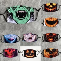 Wholesale horror scary movies masks for sale - Group buy C1S7g Fun Clown Joker Mask Hair The Dark Movie Cosplay Horror Scary Knight Mask with GreenWig Halloween Latex Hallowmas Mask Party Costume