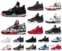 Wholesale fire wing resale online - Hot Mens S Jumpman Basketball Shoes Bred Wings Encore Fire Red Singles Stealth Oreo White Cement Men Designer Sneakers Size US