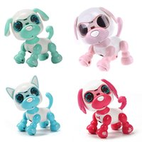 Wholesale toy robotics resale online - Robot Dog Robotic Puppy Interactive Toy Birthday Gifts Christmas Present Toy for Children