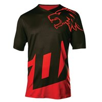 Wholesale moto gp bikes resale online - 2020 New Quick Dry Short Sleeve Downhill Jersey Motocross Cycling Jerseys Moto GP Mountain Bike T Shirt DH Cycling Clothes