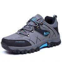 Wholesale bicycling shoes resale online - 8517 men s waterproof non slip rain proof Walking walking Bicycle hiking cycling shoes cross country hiking shoes ucRhd