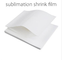 Sublimation Shrink Film PVC Heat Shrink Wrap Bag Blank Shrink Papers for Skinny Tumbler Regular Tumbler Wine Tumbler