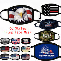 Wholesale print mask for sale - Group buy Face Masks Trump American Election Supplies Dustproof Print Mask Universal For Men And Women American Flag Mask