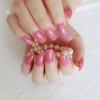 Wholesale different nails resale online - 24pcs Fake Nails Tips Different Size French False Nails Tips Flat Shape Full Cover Manicure Fake Art Ballerina