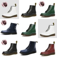 pato botas homens venda por atacado-Big Size 35-45 High Top Botas Mulher Lace-Up Shoes Inverno Valentine Duck Botas Midcalf Motos Botas Men # 998