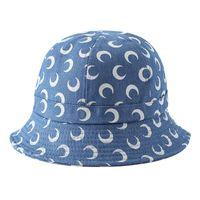 Wholesale cloche hat for sale - Group buy Marine Serre Bucket Hats Half moon Men Women Skateboard Cap Marine Serre Bucket Hats Women Cloches