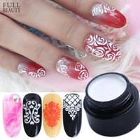 Wholesale lacquer painting for sale - Group buy 6ml Painting Carving Gel Nail Polish D Soak Off UV LED Gel for Manicure Multifunction Lacquer Nail Art Salon Varnish CH1501