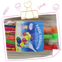 Wholesale water balloon refills for sale - Group buy hot sales Balloons Rubber Bands Refill Tools Refill Pack Party Decor Supplementary Balloons Accessories Party Supplies c07