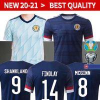 Wholesale scotland soccer jersey resale online - 20 Scotland Soccer Jerseys camisetas de futbol home McGregor McGinn Armstrong Robertson football shirts thailand AWAY