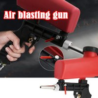Wholesale pneumatic s resale online - Adjustable Small Air Blasting Machine Derusting Sandblasting Spray Set Portable Gravity Pneumatic Sandblasting s psi