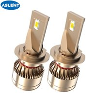 Wholesale led headlights bulbs for sale - Group buy ASLENT Car Headlight H4 LED H7 canbus H1 H9 H8 H11 Real W lm K car Styling Auto Headlamp Fog Light Bulbs